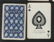Playing cards Vintage Advertising Players Bachelor cigarettes
